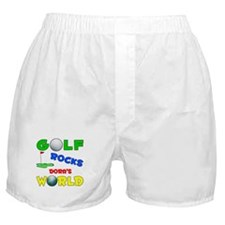 Golf Rocks Dora's World - Boxer Shorts
