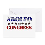 ADOLFO for congress Greeting Cards (Pk of 10)