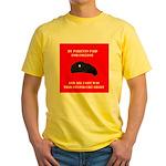 Stupid Che Shirt Yellow T-Shirt