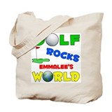 Golf Rocks Emmalee's World - Tote Bag