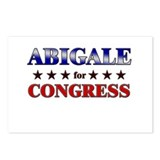 ABIGALE for congress Postcards (Package of 8)