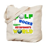 Golf Rocks Estefania's World  Tote Bag