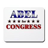 ABEL for congress Mousepad