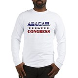 ABAGAIL for congress Long Sleeve T-Shirt