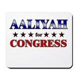 AALIYAH for congress Mousepad