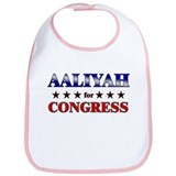 AALIYAH for congress Bib