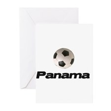 Panama Soccer Greeting Cards (Pk of 10)