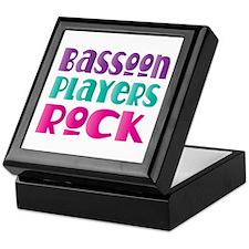 Bassoon Players Rock Keepsake Box