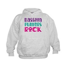 Bassoon Players Rock Kids Hoodie