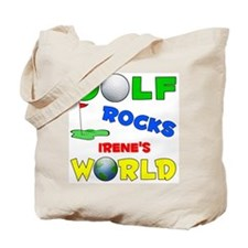Golf Rocks Irene's World - Tote Bag