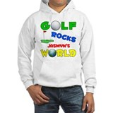 Golf Rocks Jasmyn's World - Hoodie Sweatshirt