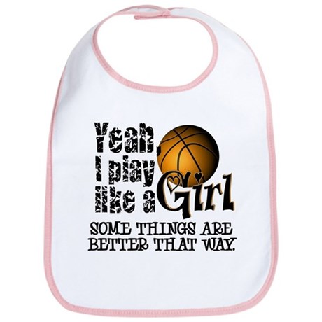 Play Like a Girl - Basketball Bib
