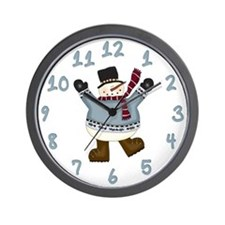 It's Snowtime Wall Clock