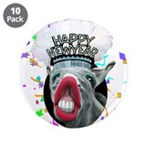 "HAPPY NEW YEAR 3.5"" Button (10 pack)"