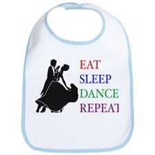 Eat Sleep Dance Bib