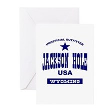 Jackson Hole WY Greeting Cards (Pk of 10)