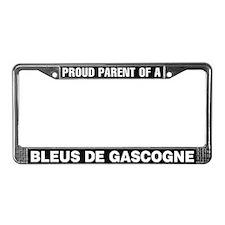 Bleus de Gascogne License Plate Frame