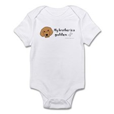 golden retriever gifts Infant Bodysuit