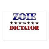 ZOIE for dictator Postcards (Package of 8)