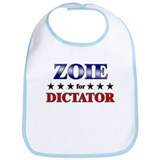 ZOIE for dictator Bib