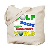 Golf Rocks Madalynn's World - Tote Bag
