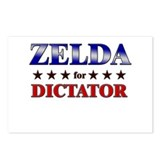 ZELDA for dictator Postcards (Package of 8)