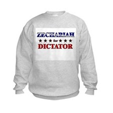 ZECHARIAH for dictator Sweatshirt