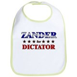 ZANDER for dictator Bib