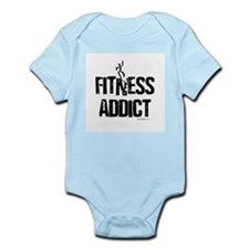 FITNESS ADDICT Infant Bodysuit