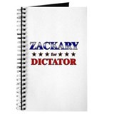 ZACKARY for dictator Journal