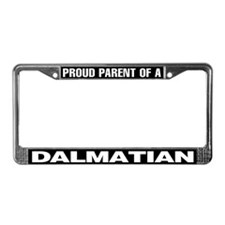 Proud Parent of a Dalmatian License Plate Frame