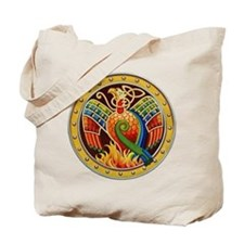 Celtic Phoenix Tote Bag