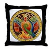 Celtic Phoenix Throw Pillow