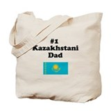 #1 Kazakhstani Dad Tote Bag