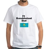 #1 Kazakhstani Dad Shirt