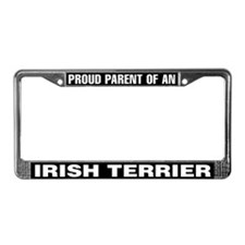 Irish Terrier License Plate Frame