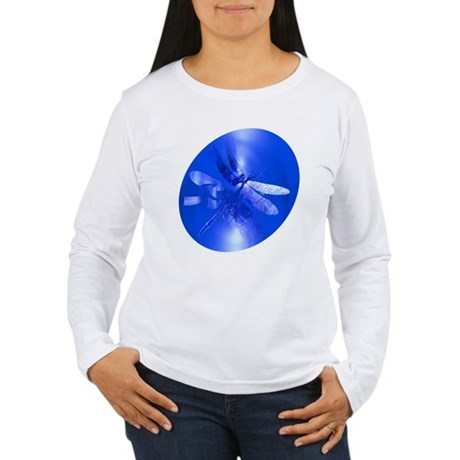 Blue Dragonfly Women's Long Sleeve T-Shirt