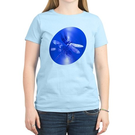 Blue Dragonfly Women's Light T-Shirt