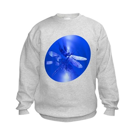 Blue Dragonfly Kids Sweatshirt
