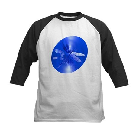 Blue Dragonfly Kids Baseball Jersey