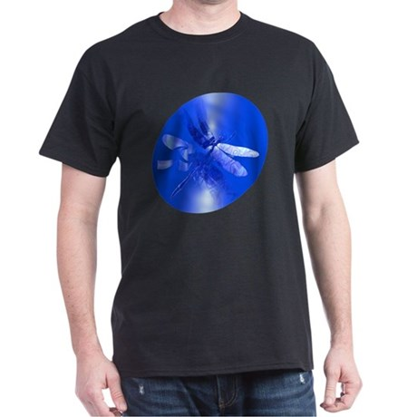 Blue Dragonfly Dark T-Shirt
