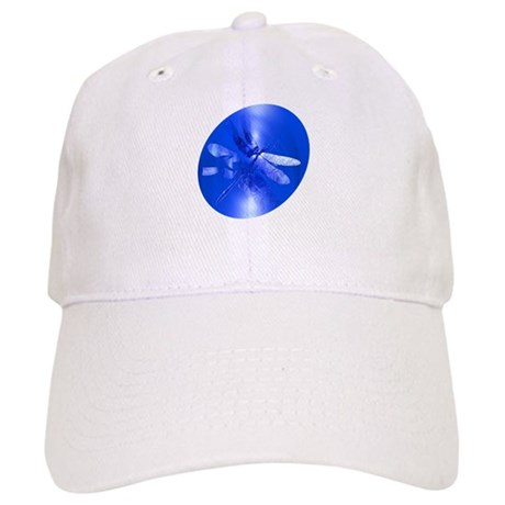 Blue Dragonfly Cap