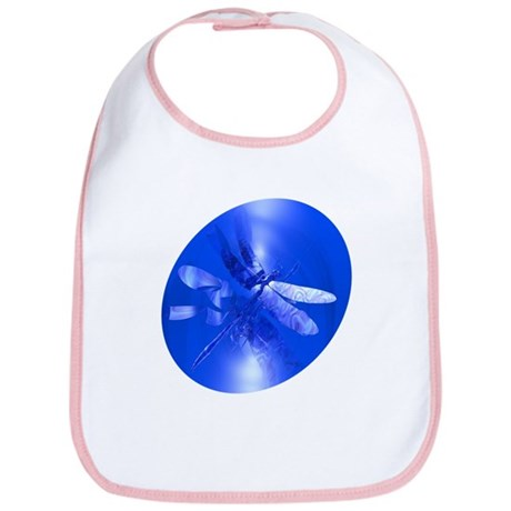 Blue Dragonfly Bib