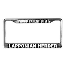 Lapponian Herder License Plate Frame
