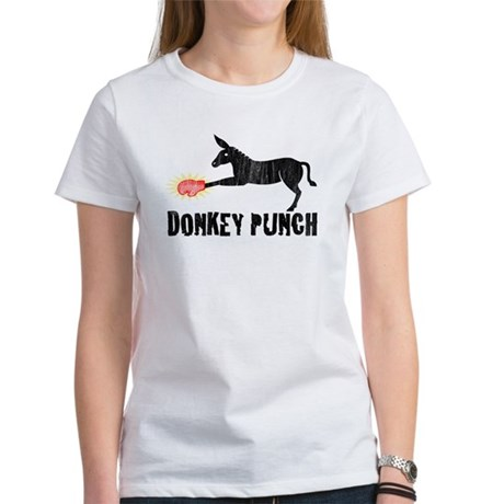 Donkey Punch Womens T-Shirt