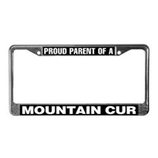 Mountain Cur License Plate Frame