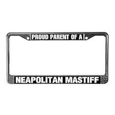 Neopolitan Mastiff License Plate Frame