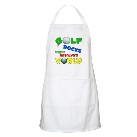 Golf Rocks Natalya's World - BBQ Apron