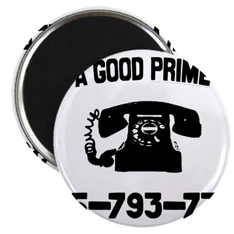 For A Good Prime Call Magnet