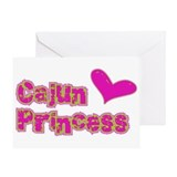 Cajun Princess Greeting Card